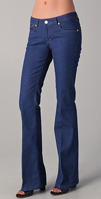 Victoria Beckham Clean Boot Cut Jeans