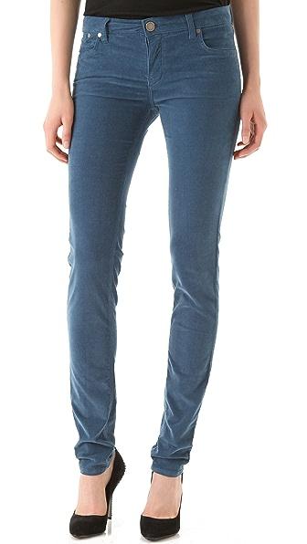 Victoria Beckham Super Skinny Corduroy Pants