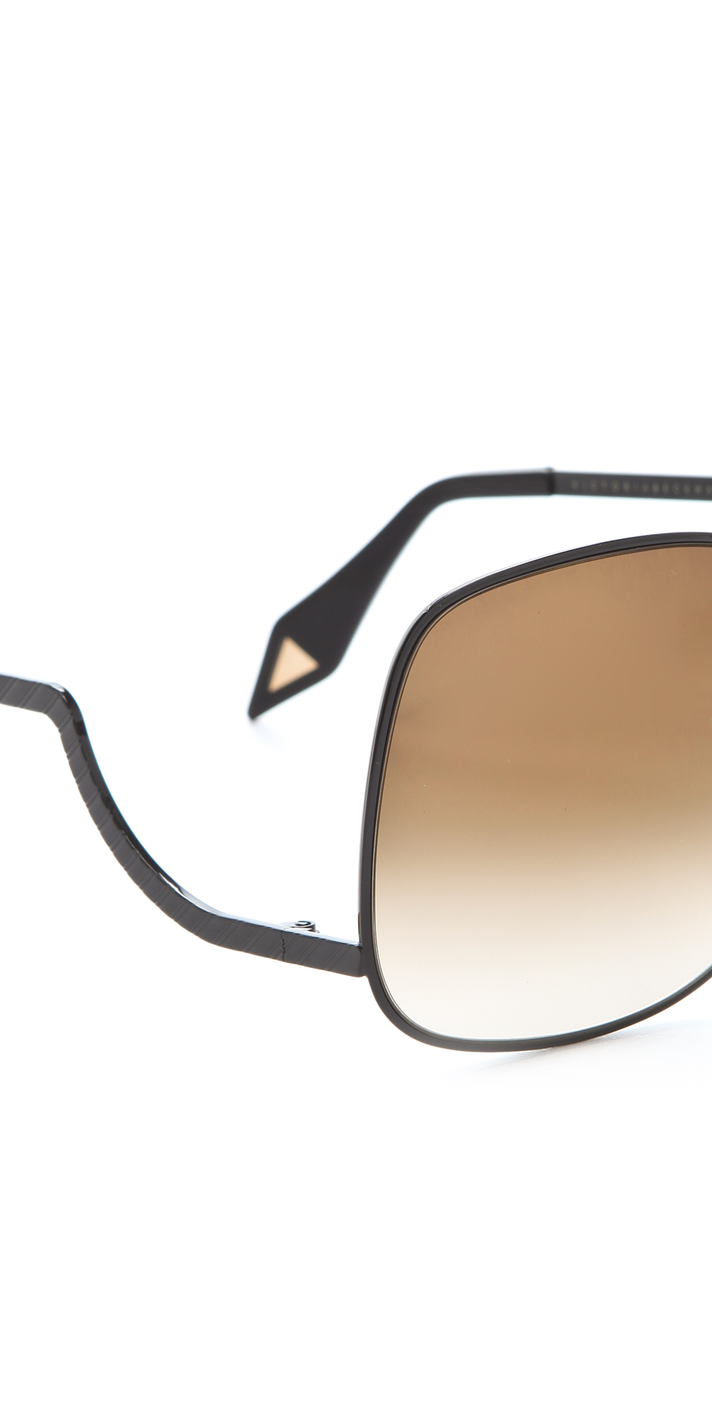 515fb2f20f3 Victoria Beckham Metal Drop Temple Sunglasses