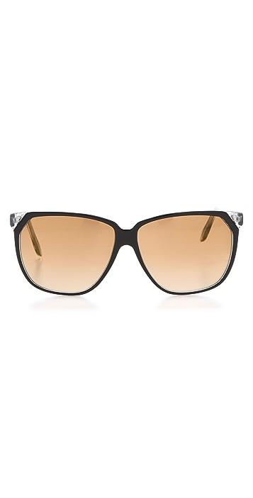 Victoria Beckham Stepped Square Sunglasses