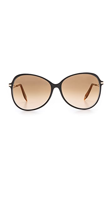 Victoria Beckham Acetate Butterfly Sunglasses