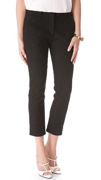Victoria Beckham Chino Lace Skinny Pants