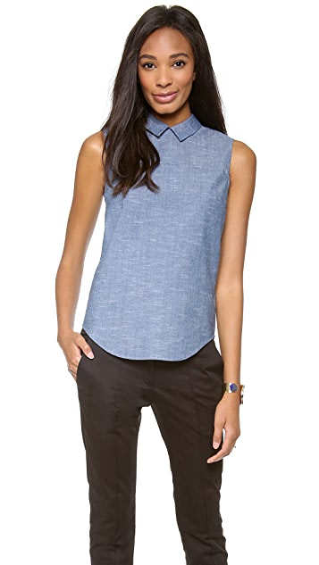 Victoria Beckham Zip Back Shirt