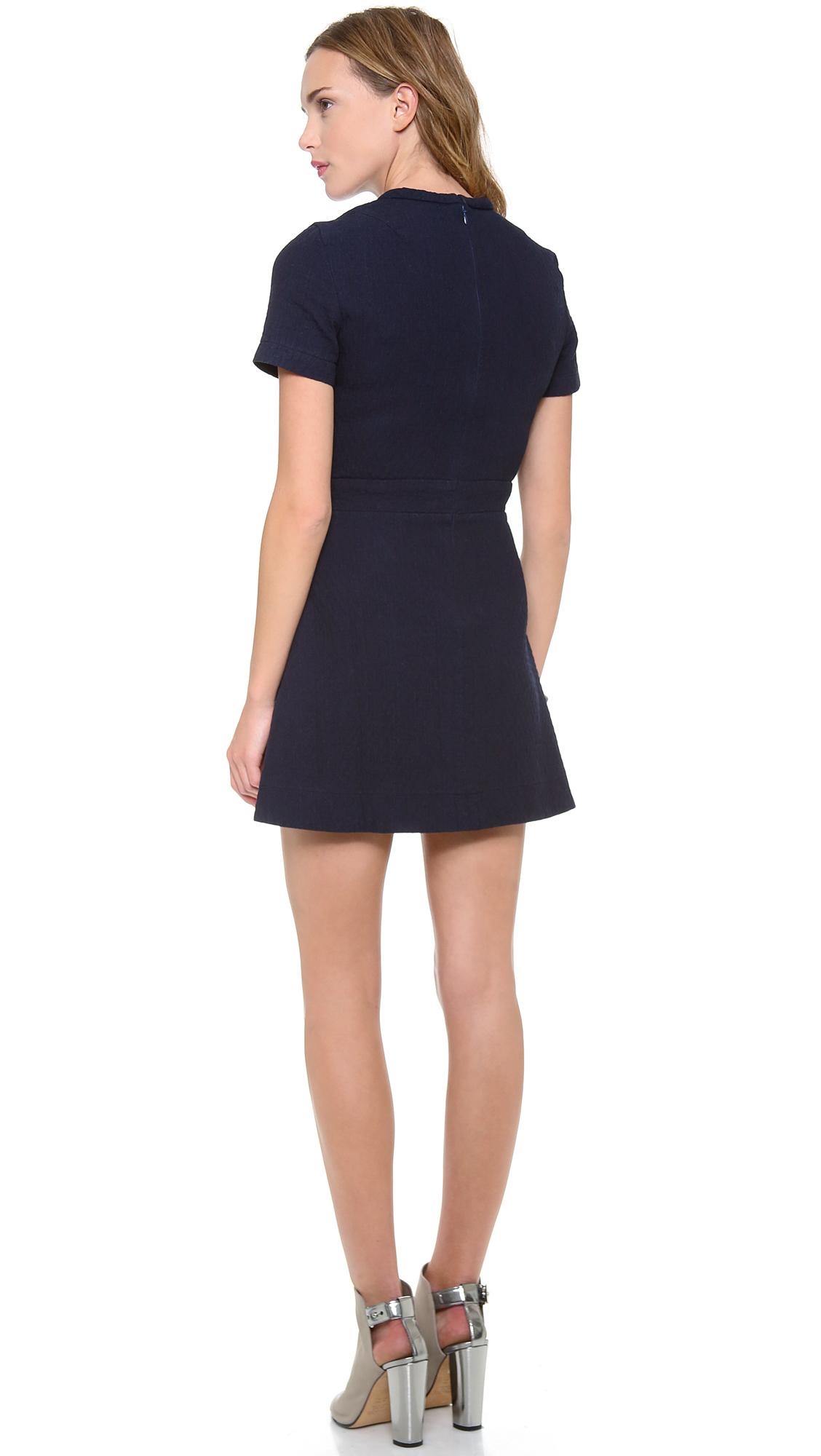 Victoria Beckham Quilted Dress