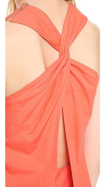 Victoria Beckham Twist Back Dress