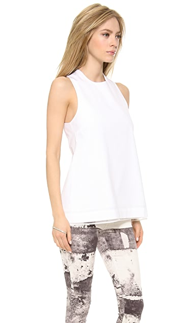 Victoria Beckham Twist Back Top