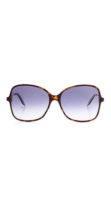 Victoria Beckham Marine Fine Sqaure Sunglasses