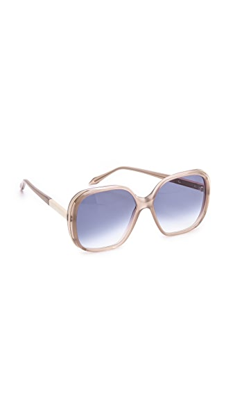 Victoria Beckham Sunbeam Square Sunglasses
