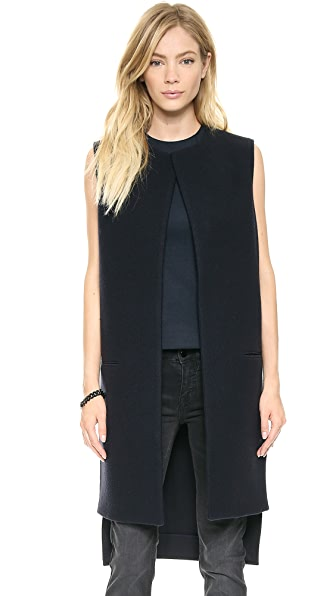 Victoria Beckham Sleeveless Coat Vest