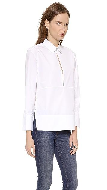 Victoria Beckham Deep V Shirt