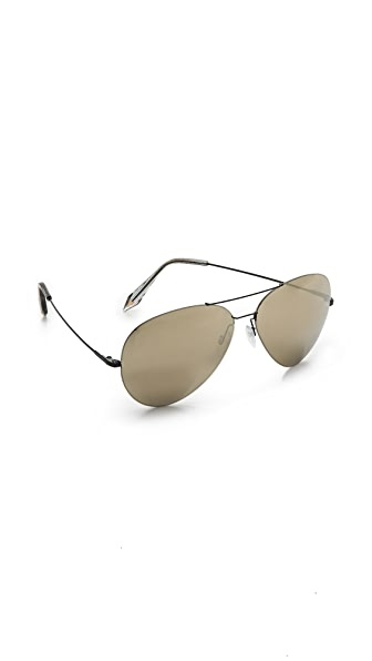 Victoria Beckham Feather Aviator Sunglasses