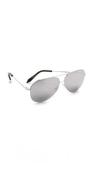 Victoria Beckham Классические солнцезащитные очки Victoria