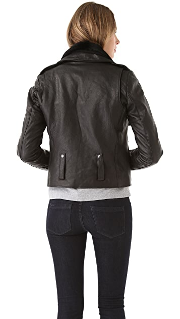 VEDA Empire Leather Jacket