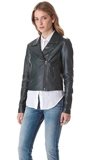 VEDA Jewel Leather Jacket