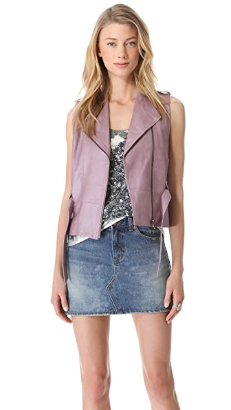 VEDA Ritz Leather Vest