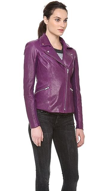VEDA Dynasty Leather Jacket