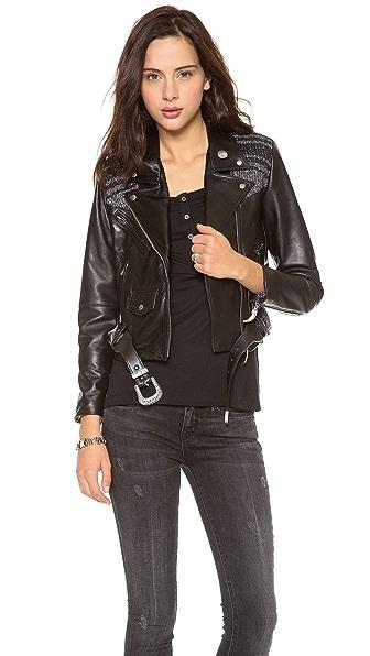 VEDA Veda X Pamela Love Moto Jacket