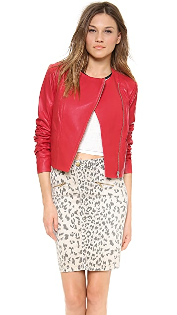 VEDA Frances Leather Jacket