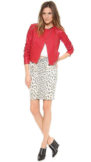 VEDA Frances Leather Jacket