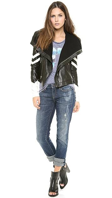 VEDA Max Racer Leather Jacket