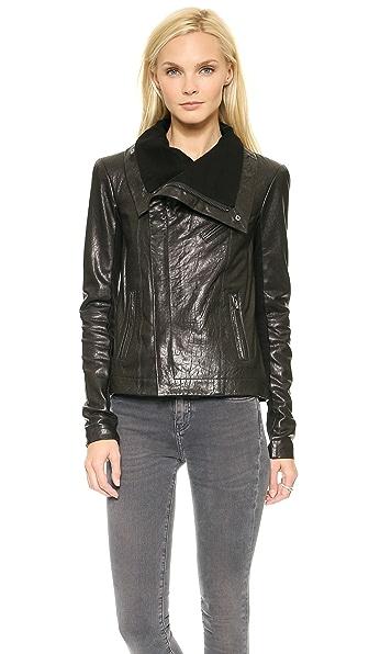 VEDA Maximum Leather Jacket