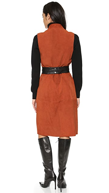 VEDA New Suede Dress