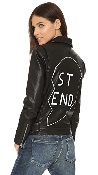 VEDA Jayne Best Friends Jacket In Black