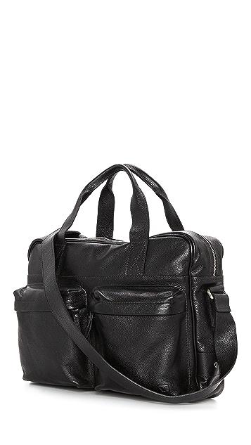 Veja Acacia Leather Briefcase
