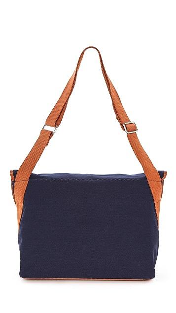 Veja Facteur Canvas Messenger Bag