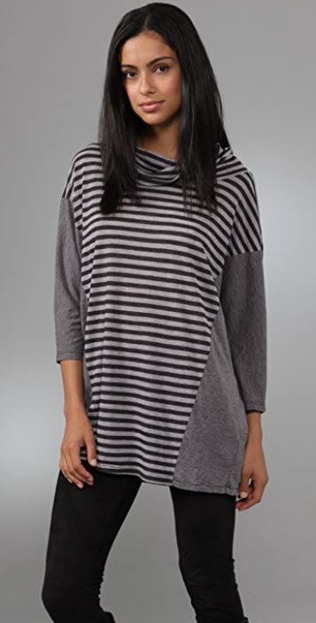 Velvet Vintage Stripe Top