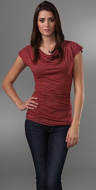 Velvet Lea Short Sleeve Blouse