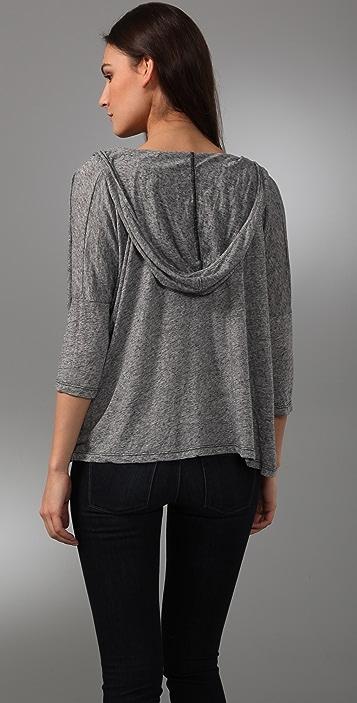 Velvet Enora Hooded Pullover Top