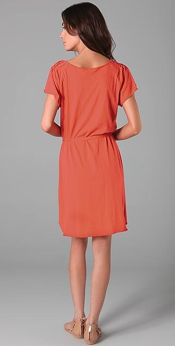 Velvet Berta Tie Waist Dress