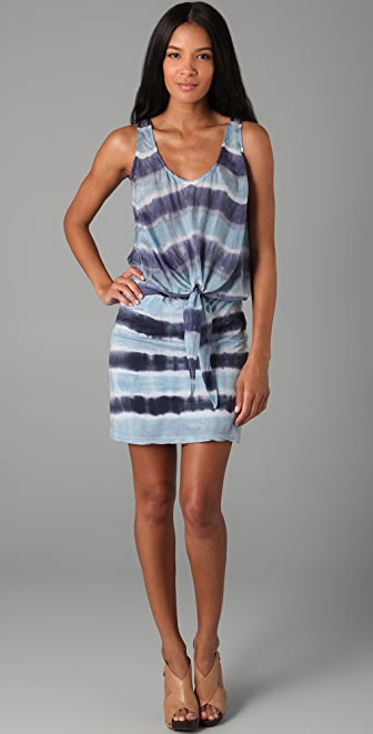Velvet Nettice Honolulu Tie Dye Stripe Dress