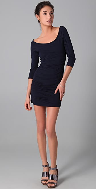Velvet Greta Long Sleeve Dress