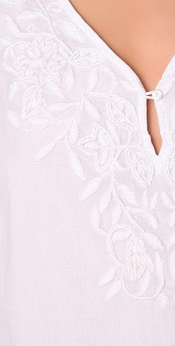 Velvet Aubin Embroidered Blouse