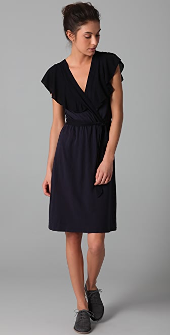 Velvet Shanley Wrap Dress