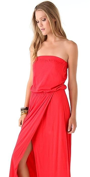 Velvet Missie Strapless Maxi Dress