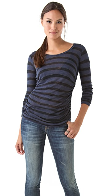 Velvet Lotna Stripe Top