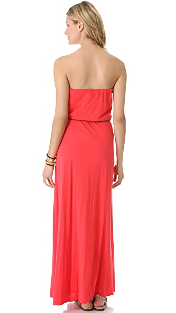 Velvet Freida Strapless Maxi Dress