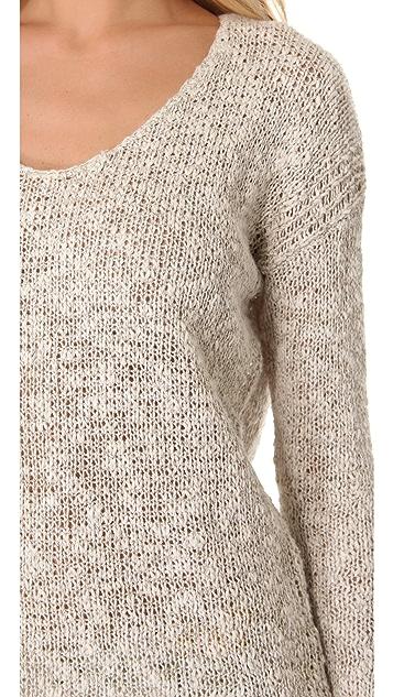 Velvet Lily Aldridge for Velvet Saffron Pullover