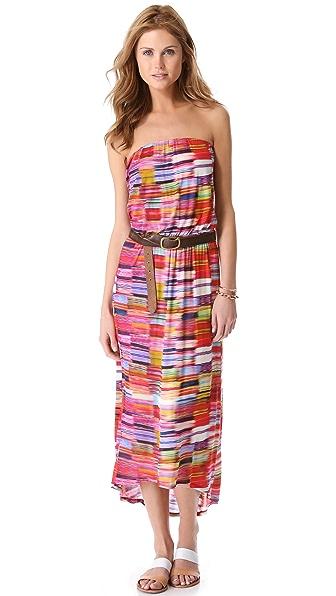 Velvet Tube Maxi Dress