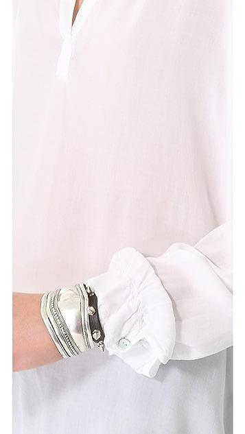 Velvet Rosie Luxe Challis Tunic