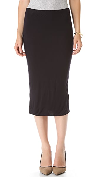 Velvet Aria Slinky Pencil Skirt