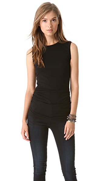 Velvet Margot Whisper Ruched Tank