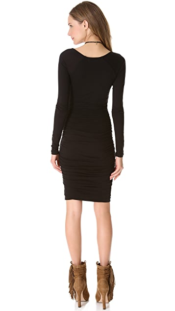 Velvet Yvonne Whisper Ruched Dress