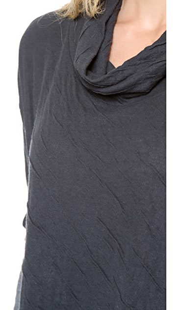 Velvet Dual Cowl Top
