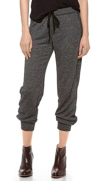 Velvet Fleece Boucle Sweatpants