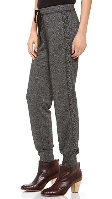 Velvet Fleece Boucle Sweatpants