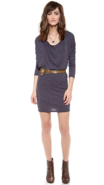 Velvet Percy Cowl Neck Knit Dress